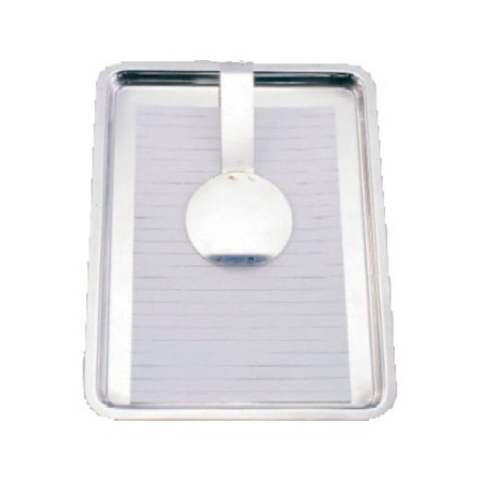 Tip Tray with Clip Stainless Steel
